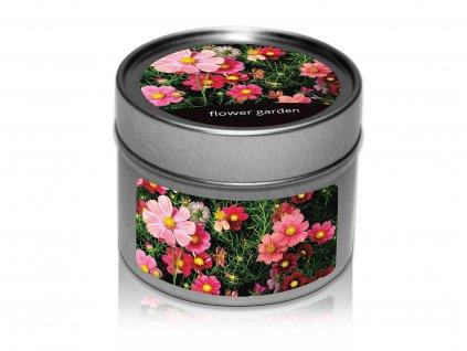 jcandles plechovka floral garden
