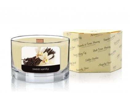 JCandles color intensive wood wick 0030 SWEET VANILLA