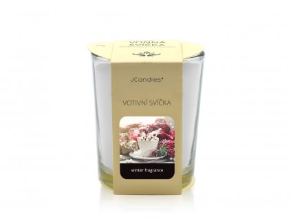 jcandles votive color v krabicce winter fragrance
