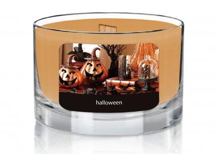 JCandles color intensive wood wick 0000 halloween