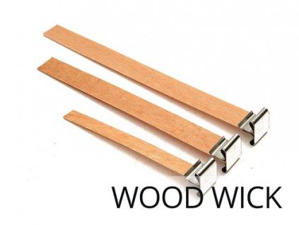 jcandles knoty WOOD WICK2 DREVENE