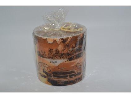 voskový svícen | cuba auto