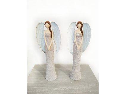 anděl elegantní | sv. hnědý