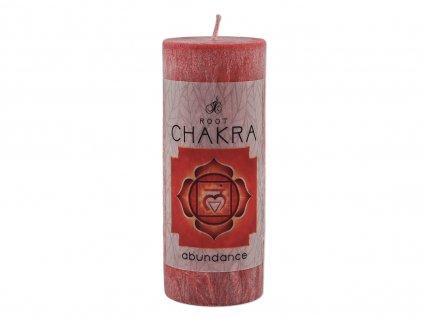 vonná svíčka Chakra | 1. čakra - Hojnost