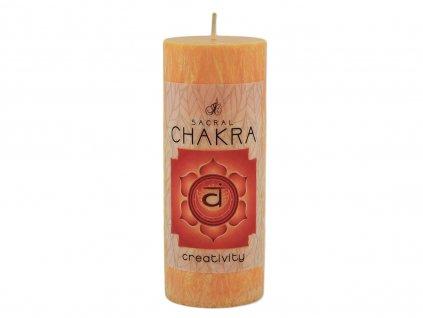 vonná svíčka Chakra | 2. čakra - Kreativita