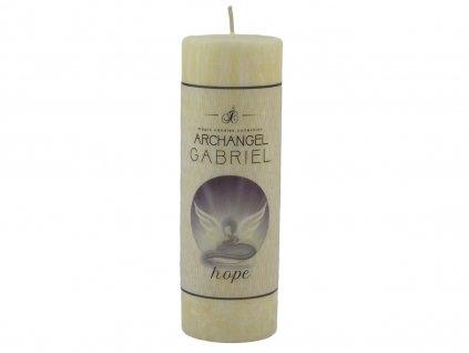 andělská svíčka dobra a naděje   Gabriel