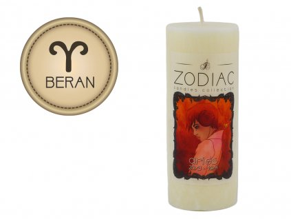 svíčka ve znamení zvěrokruhu | Beran