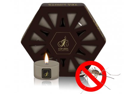 TEA LIGHT REPELLENT CITRONELLA GREEN TEA