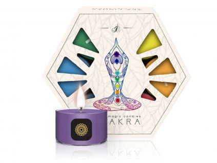 CHAKRA TEA LIGHTS 1