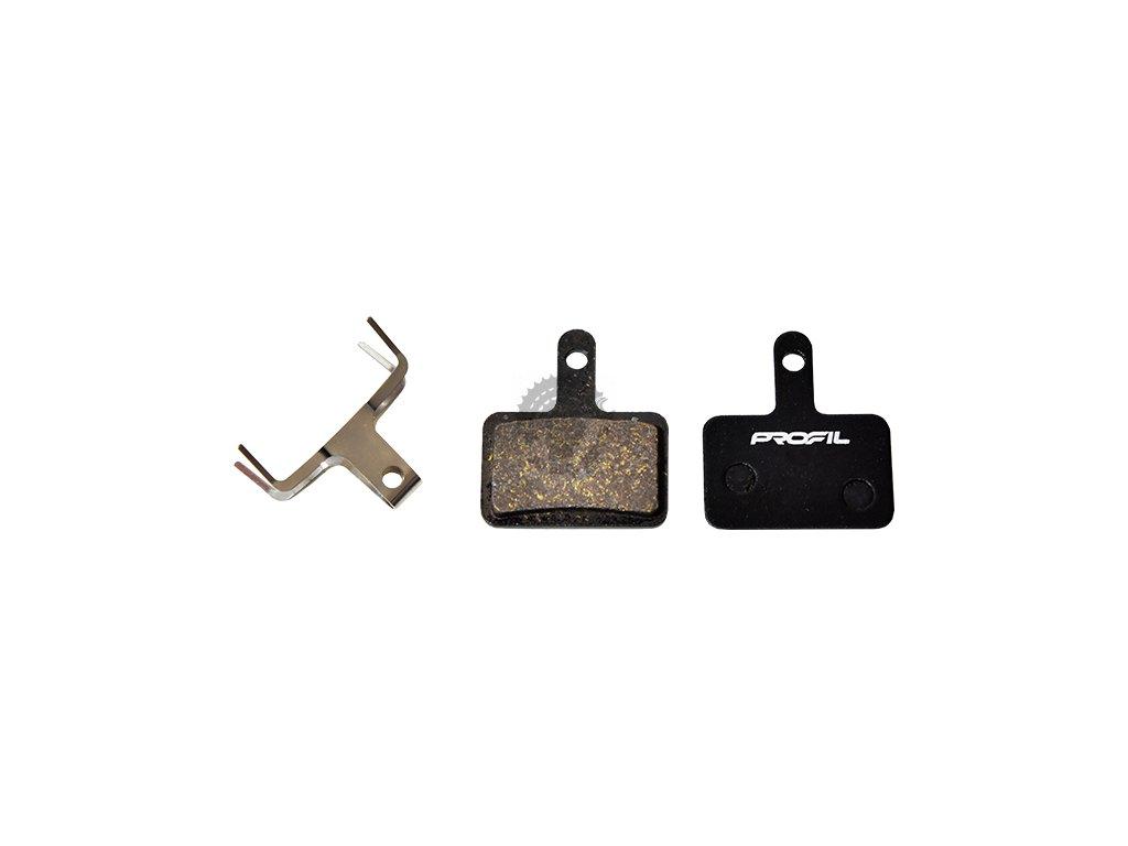 brzdove desticky mrx ad0102 shimano semi metalicke