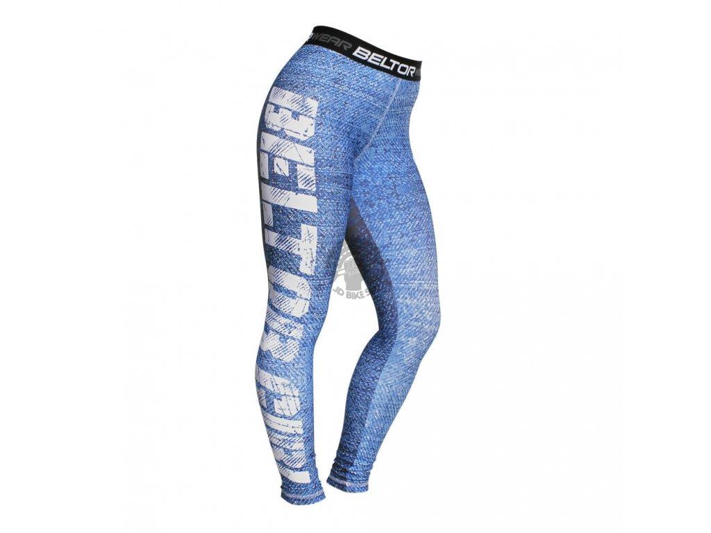 Dámské sportovní legíny Blue Jeans