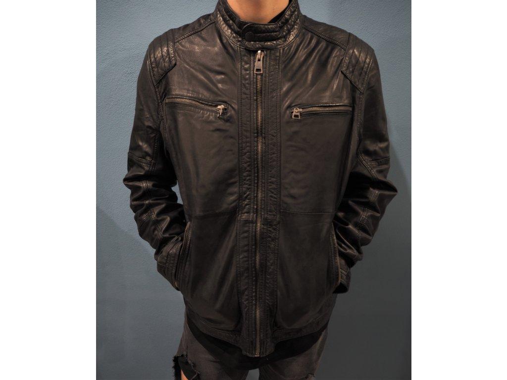 kožená bunda Tom Tailor
