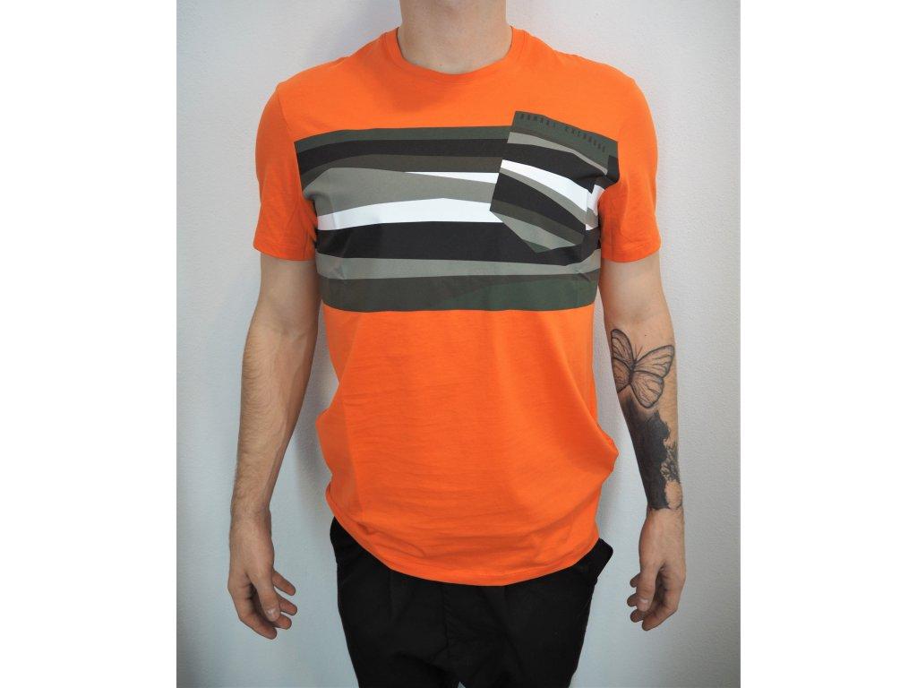 Armani Exchange triko s krátkým rukávem
