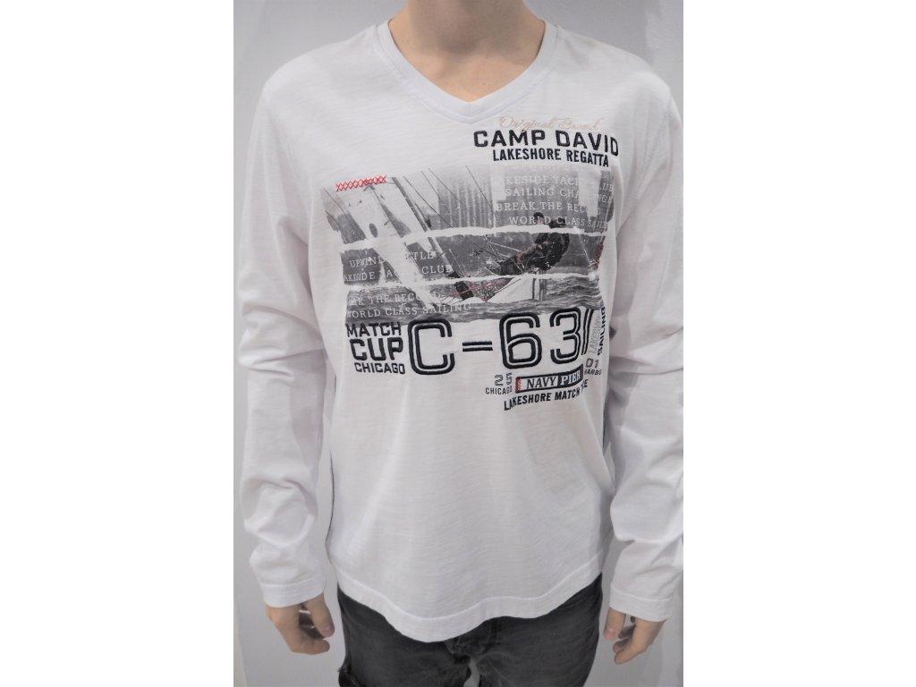 tričko s dlouhým rukávem Camp David