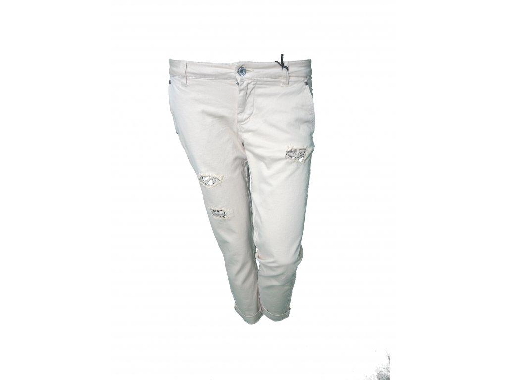 kalhoty bile