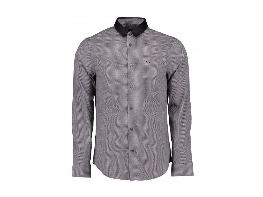 armani exchange contrast collar shirt p8266 269109 medium