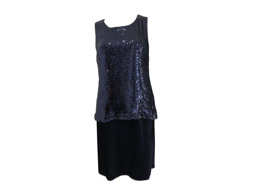šaty modré P