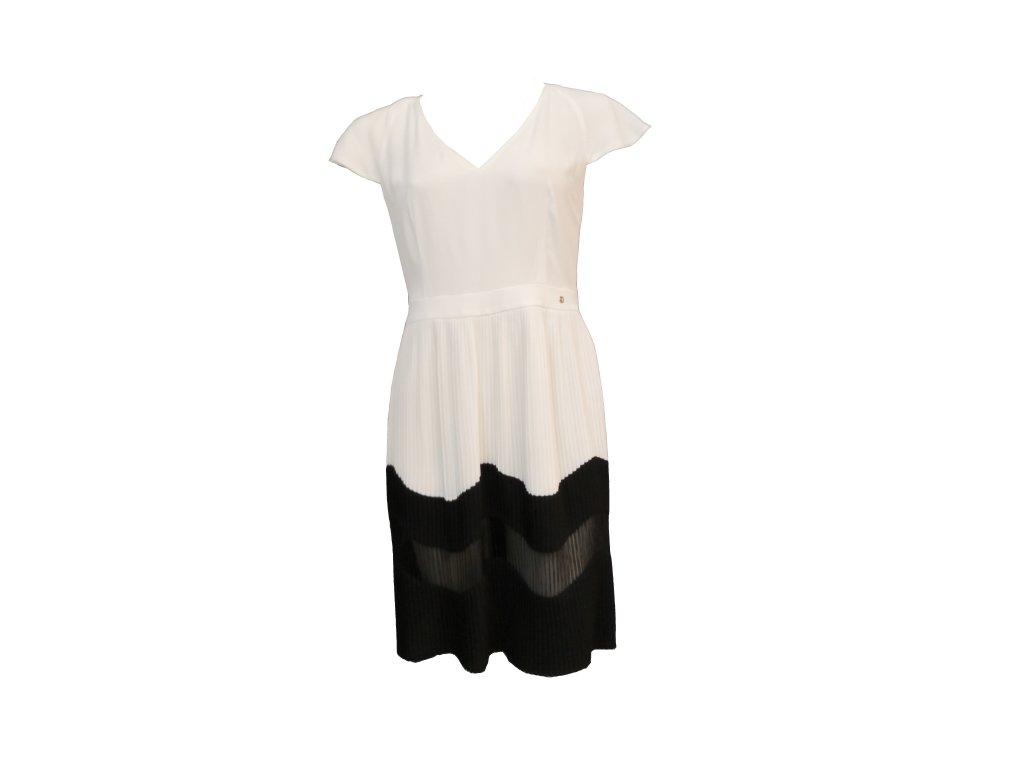 šaty bílé P