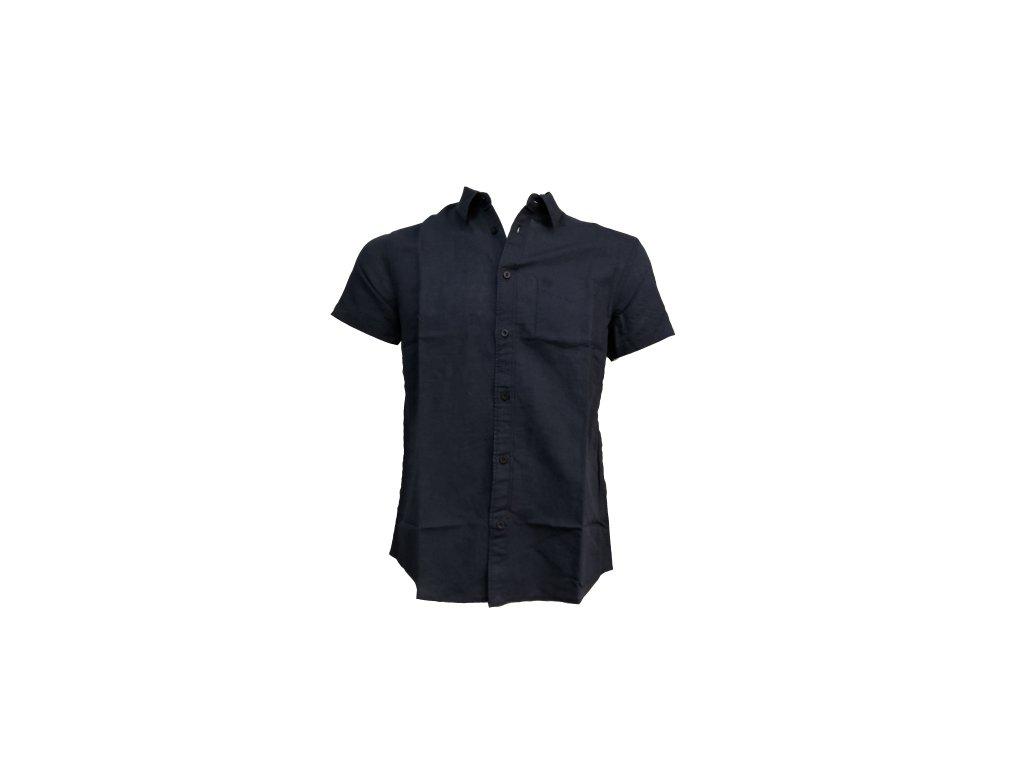 košile modrá p