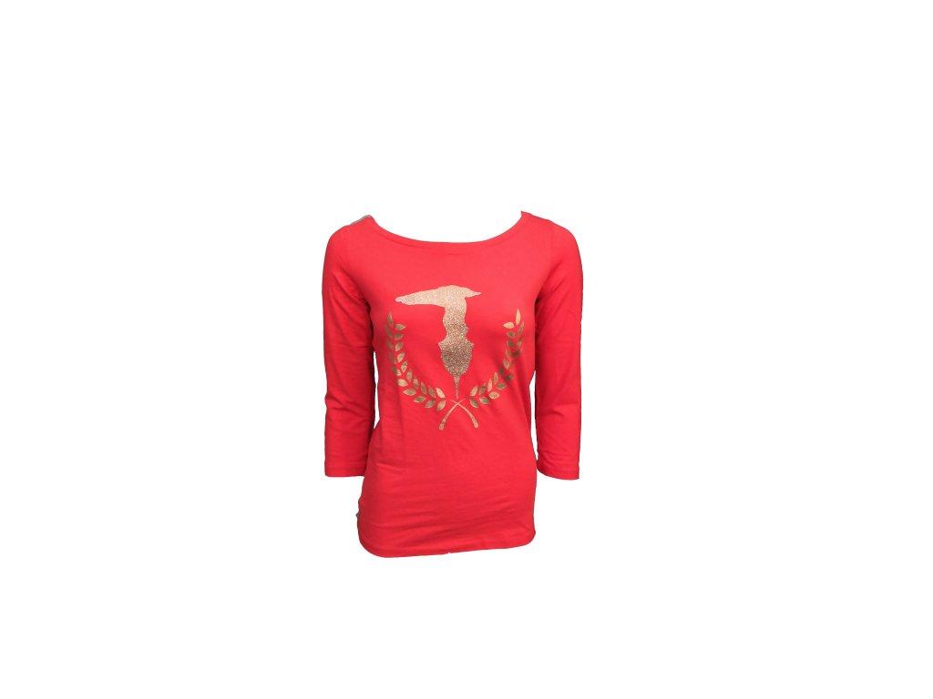 tričko trussardi červené p