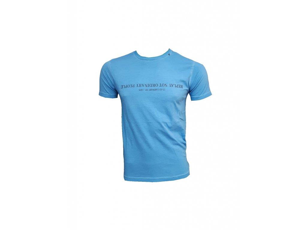 tričko modré p