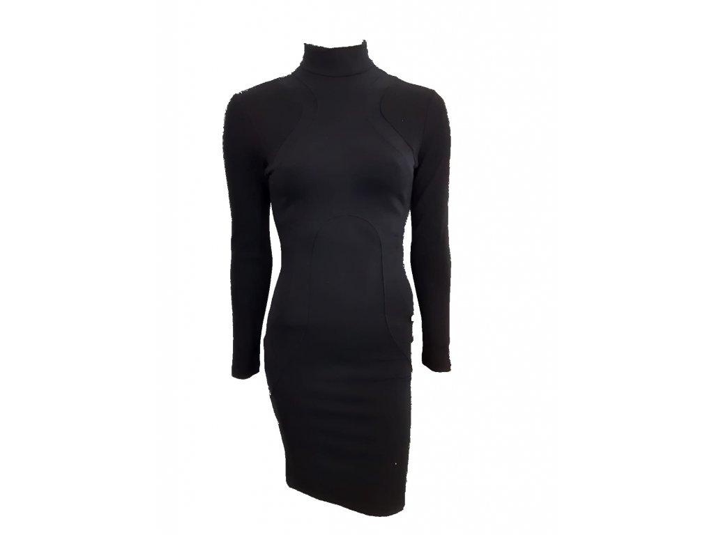 šaty černé 2 p