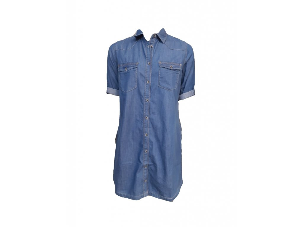 modré šaty p