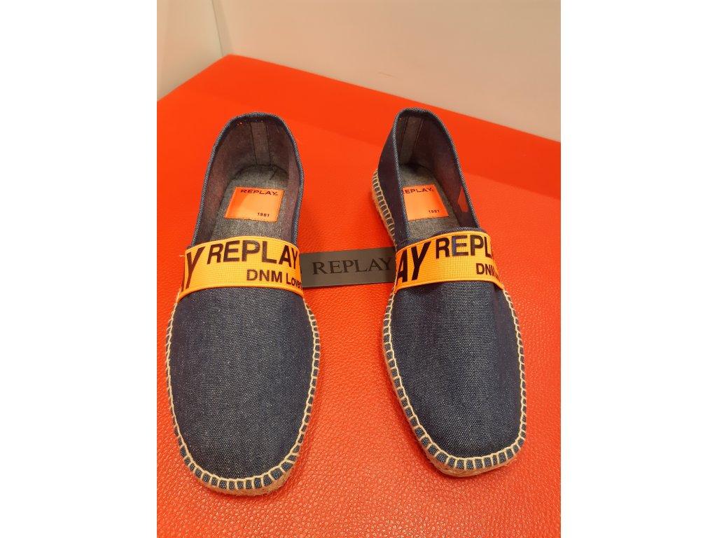 boty modré 1