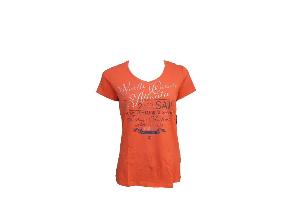 tričko oranž p