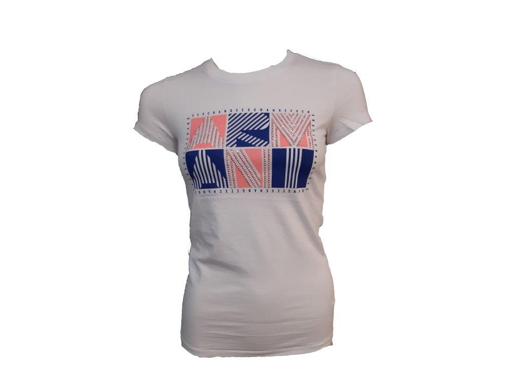 Armani Exchange dámské triko krátký rukáv