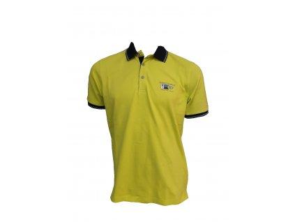 triko žluté p
