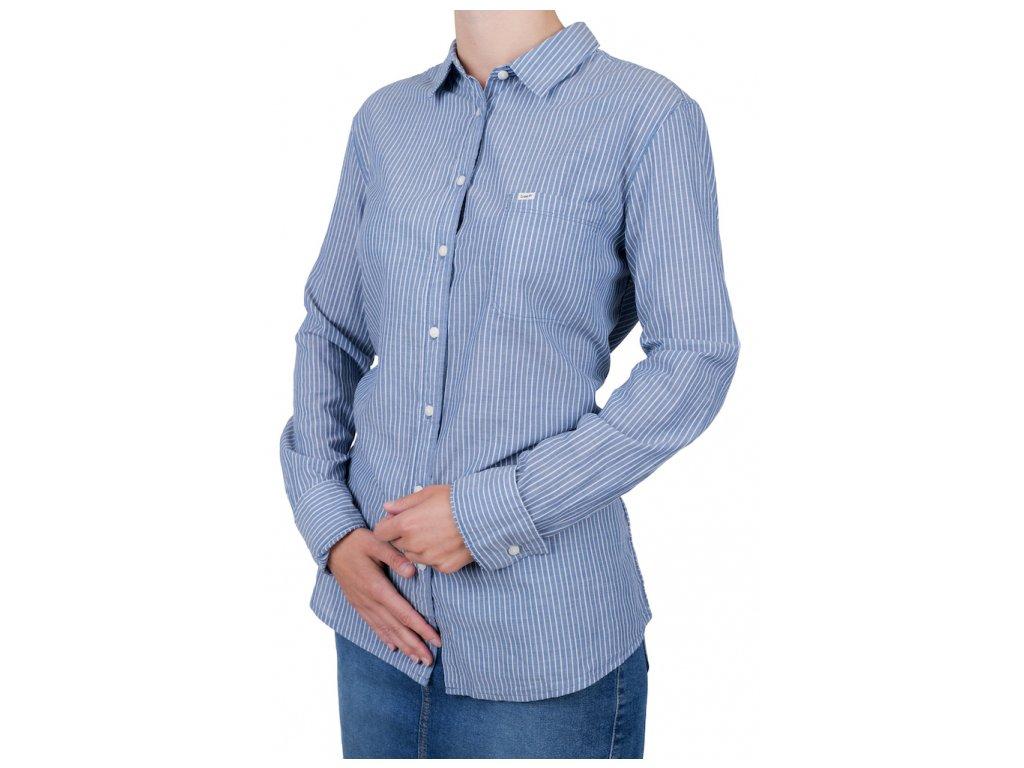Dámská košile LEE L45QKPFE ONE POCKET SHIRT LIMOGES (Velikost L)