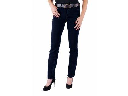 Dámské jeans WRANGLER W28TQC51L STRAIGHT BLUEBACK (Velikost 27/30)