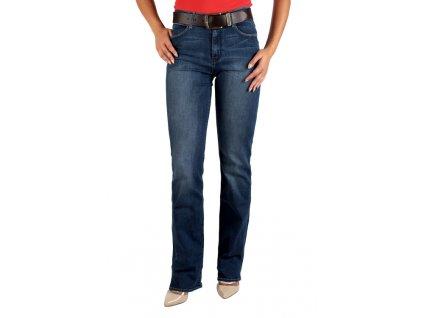 Dámské jeans WRANGLER W27HLXO23 HIGH SKINNY RINSE WASH (Velikost 31/34)