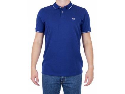Pánske polo tričko Lee L61ARLLH Blueprint (Veľkosť M)