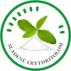 Sladene erythritolom