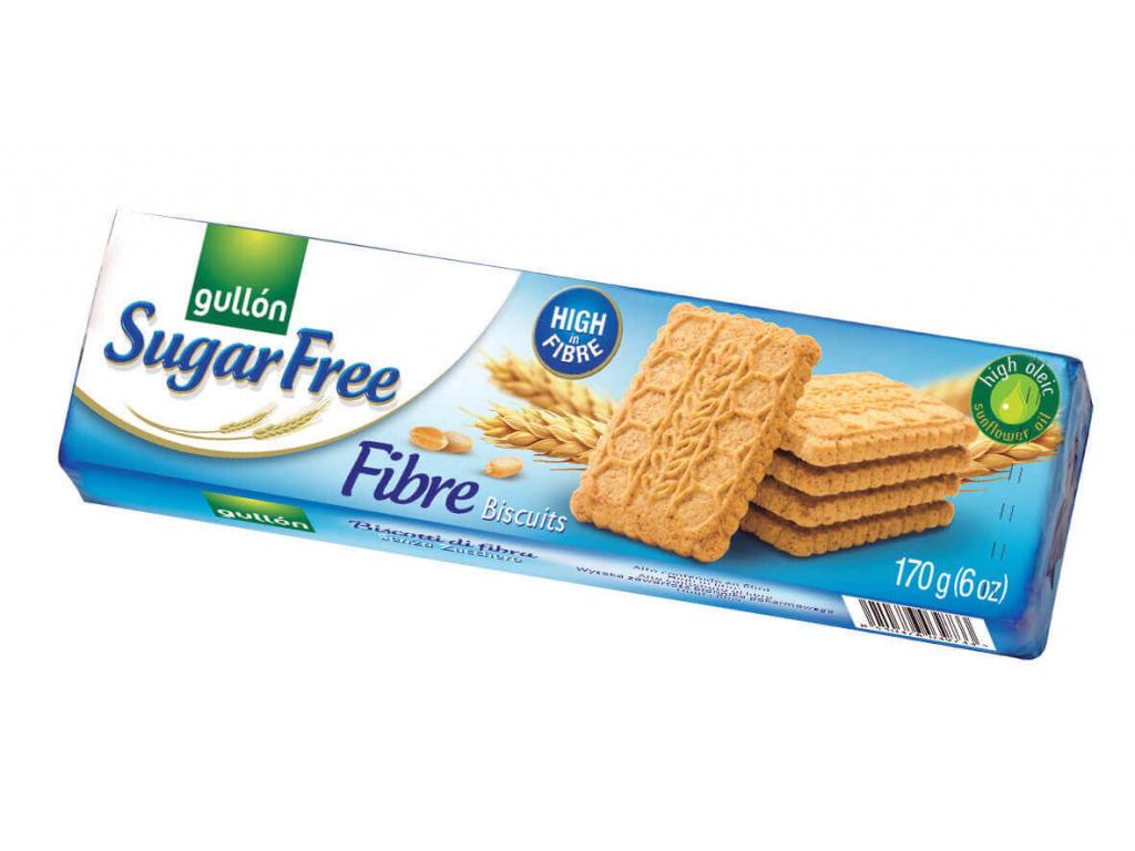 Gullón Fibre sušenky bez cukru 170g