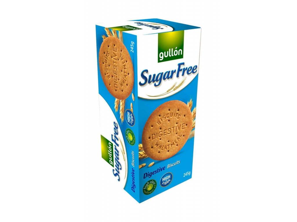 DIGESTIVE celozrnné sušienky, bez cukru 245 g