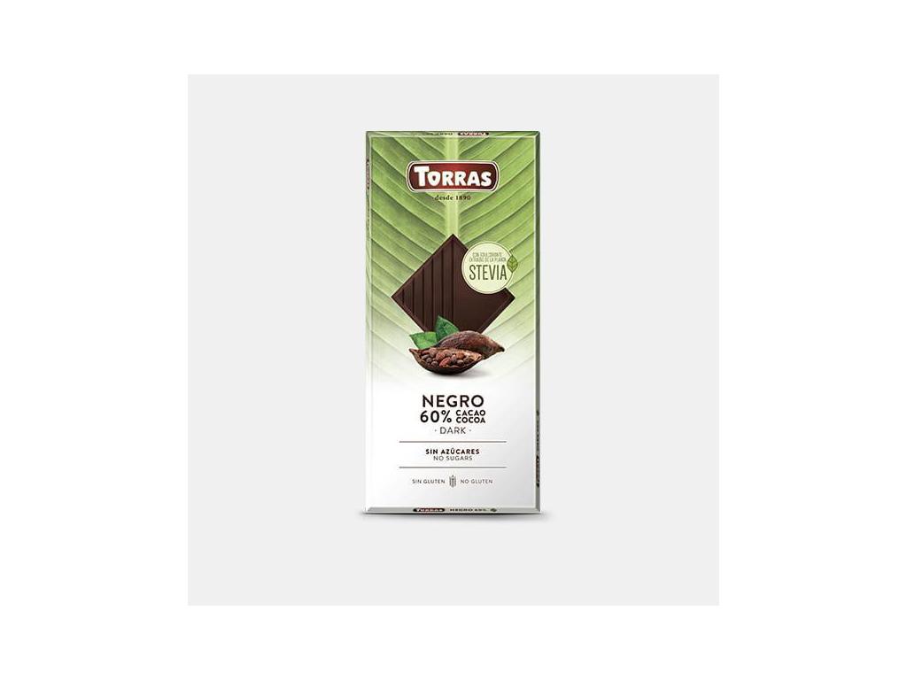 TORRAS Stévia Horká čokoláda