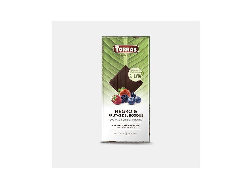 Torras Stevia horká s lesným ovocím 125g