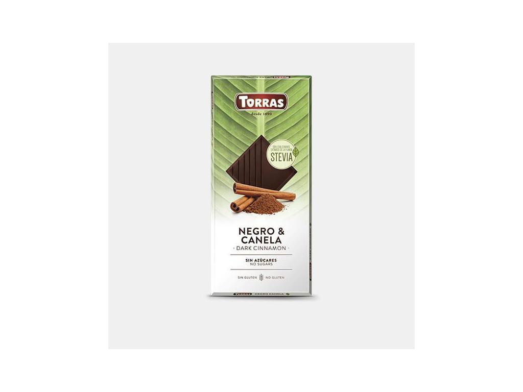TORRAS Stévia Horká čokoláda škorica