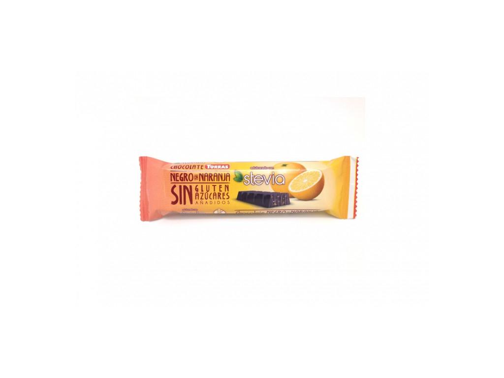 Torras Stevia tyčinka s pomarančom 35g