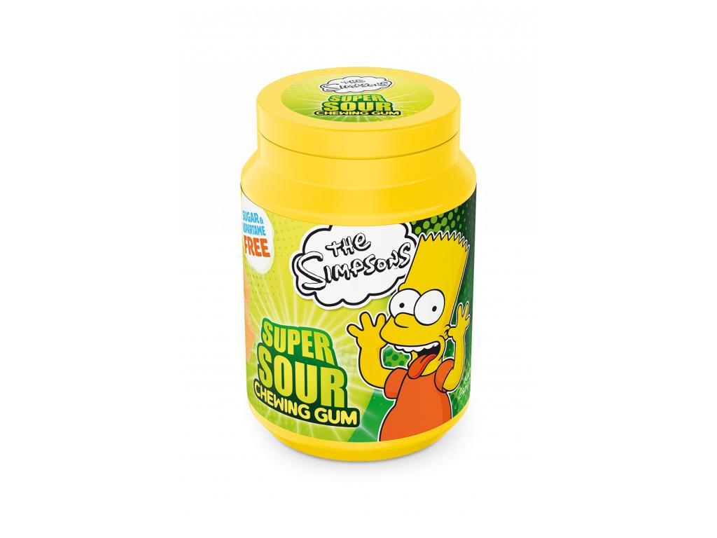 SIMPSONS BART Super Sour -  58g  (DE)