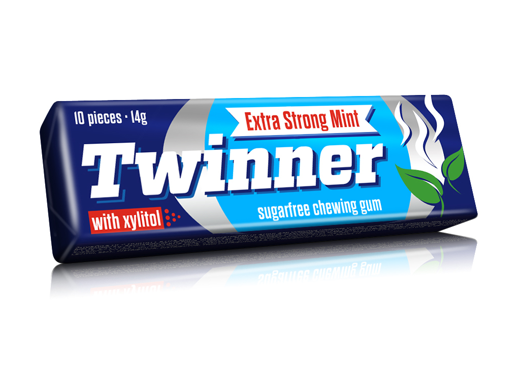 extra strong mint 3d