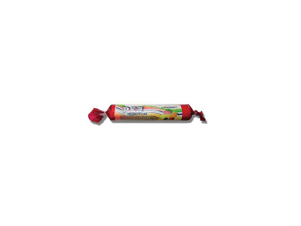 pez hroznovy cukr tutti frutti s vitaminem c 39g