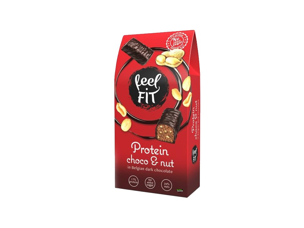 Feel Fit Protein Choco Peanut Bites 600x600
