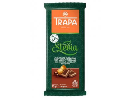 Trapa Stevia Leche Avellana