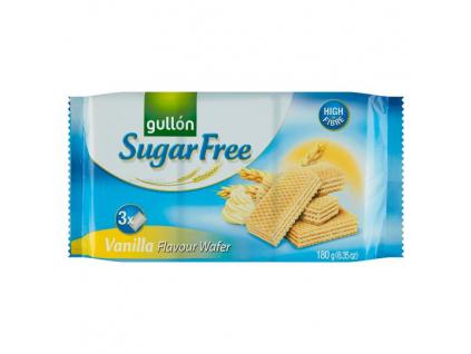 VANILLA WAFER oblátky pln. krémom s vanilkovou príchuťou, bez cukru 180 g