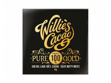willie s cacao pure gold sur del lago 100 horka cokolada 40 g