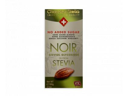 stella 53 horka cokolada s extraktem ze stevie 100 g